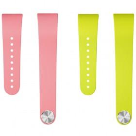 Sony SmartBand Talk Wrist Strap SWR310 (Pink + Green) Twin Pack Size S/M (Original)