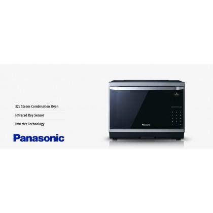 Panasonic NN-CS894BMTQ Steam Microwave Convection Oven 32L (Original) 1 Years Warranty By Panasonic Malaysia