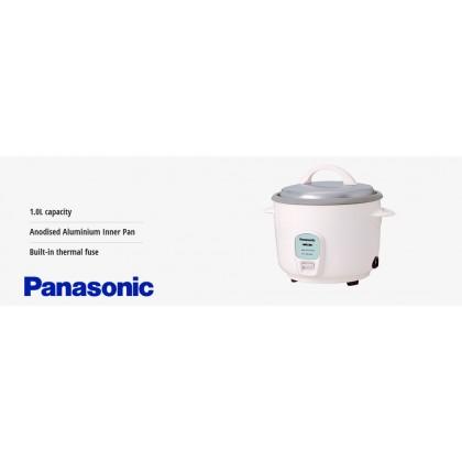 *Display Unit* Panasonic SR-E10A Conventional Rice Cooker - Sky Blue 1.0L (Original) 1 Years Warranty By Panasonic Malaysia