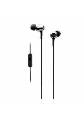 Sony MDR-EX250AP/B Earphone / Headphone Smartphone-capable In-ear Headphones MDR-EX250AP (Original) by Sony Malaysia - Black Colour