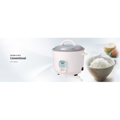 Panasonic SR-E28A Conventional Rice Cooker 2.8L (Original) 1 Years Warranty By Panasonic Malaysia