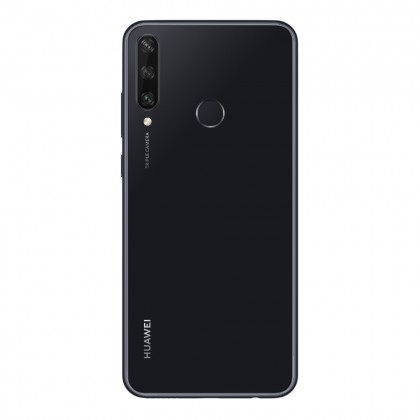 (FREE Huawei AP38 Car Charger) Huawei Y6p Smartphone 4GB 64GB Midnight Black Colour (Original) 1 Year Warranty By Huawei Malaysia