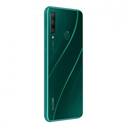 (FREE Huawei AP38 Car Charger) Huawei Y6p Smartphone 4GB 64GB Emerald Green Colour (Original) 1 Year Warranty By Huawei Malaysia