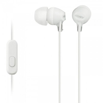 Sony MDR-EX15AP White Earphone / Headphone MDR-EX15AP/W (Original) by Sony Malaysia