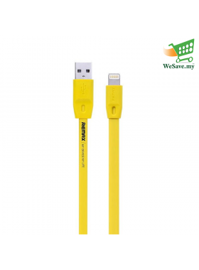 Remax Apple iPhone Full Speed Lightning Cable (100cm) Yellow Colour (Original)