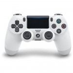 Sony Playstation PS4 Controller Dualshock 4 Glacier White Colour CUH-ZCT2G/W (Original) 1 Year Warranty By Sony Malaysia