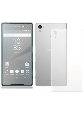 Sony Xperia Z5 Premium Front And Back (2 In 1) Clear Transparent Screen Protector (Original)