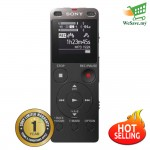 Sony ICD-UX560F Black Digital Voice Recorder with Built-in USB ICD-UX560F/B (Original) by Sony Malaysia