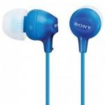 Sony MDR-EX15LP Blue In-Ear Headphones MDR-EX15LP/L (Original) 1 Year Warranty By Sony Malaysia