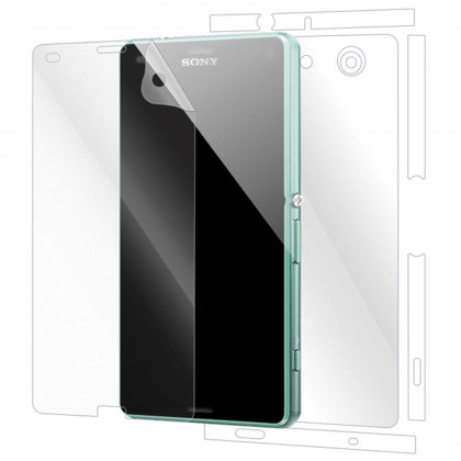 Sony Xperia Z3 Compact Front And Back (2 In 1) Clear Transparent Screen Protector (Original)