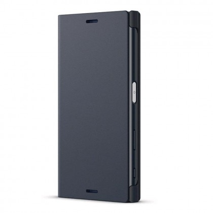 Sony Xperia X Compact Style Cover Stand Flip Cover SCS-F20WW Black Colour (Original)