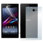 Sony Xperia M2 Front And Back (2 In 1) Matte Screen Protector (Original)