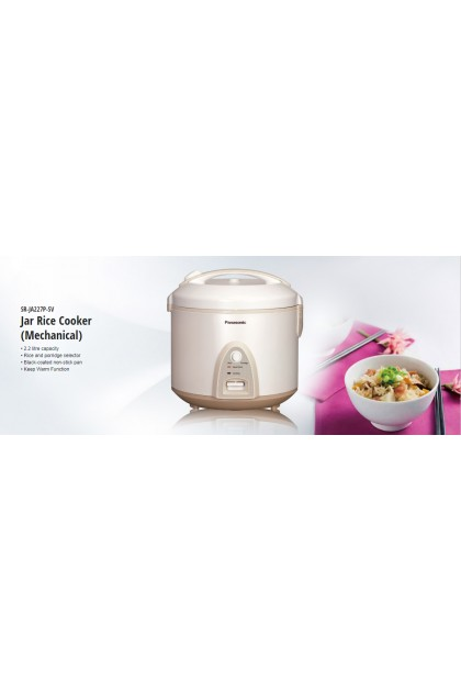 Panasonic SR-JA227P Rice Cooker 2.2L (Original) 1 Years Warranty By Panasonic Malaysia