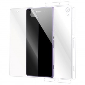 Sony Xperia Z2 Front And Back (2 In 1) Clear Transparent Screen Protector (Original)