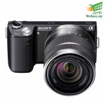 (DISPLAY) Sony Alpha Digital Camera NEX-5NK Black Colour (Original)