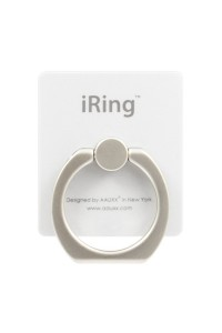 iRing White Colour 360 Degree Mobile Phone Ring Stent For Samsung / Apple / Asus / Lenovo / Oppo / MI / Vivo / HTC / Huaiwei / Sony