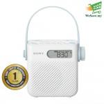 Sony ICF-S80 Shower Radio AM/FM with Speaker (Original) from Sony Malaysia