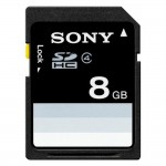Sony SDHC SF-8N4 / SF-8N4/T 8GB SD Memory Card (Original)