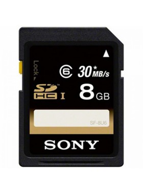 Sony SF-8U6 SDHC  8GB 30MB/S SD Memory Card (Original)
