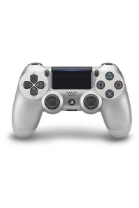 Sony Playstation PS4 Controller Dualshock 4 Silver Colour CUH-ZCT2G/S (Original) 1 Year Warranty By Sony Malaysia
