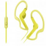 Sony MDR-AS210AP Yellow Sport In-ear earphone MDR-AS210AP/Y (Original) 1 Year Warranty By Sony Malaysia