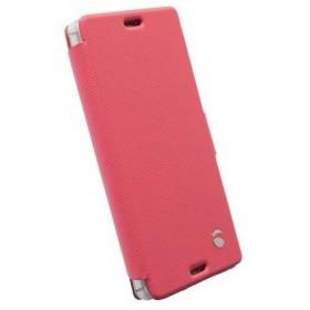 Sony Xperia Z3 Compact Case Krusell Malmo Flip Case Pink Colour (Original)