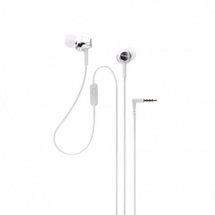 Sony MDR-EX250AP White Earphone / Headphone Smartphone-capable In-ear Headphones MDR-EX250AP/W (Original) by Sony Malaysia