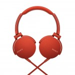 Sony MDR-XB550AP Red EXTRA BASS Headphones MDR-XB550AP/R (Original) from Sony Malaysia