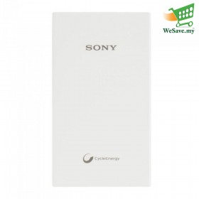Sony 5000mAh Power Bank CP-V5A Portable USB Charger White Colour (Original)
