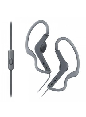 Sony MDR-AS210AP Black Sport In-ear earphone MDR-AS210AP/B (Original) 1 Year Warranty By Sony Malaysia