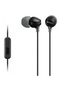 Sony MDR-EX15AP Black Earphone / Headphone MDR-EX15AP/B (Original) by Sony Malaysia