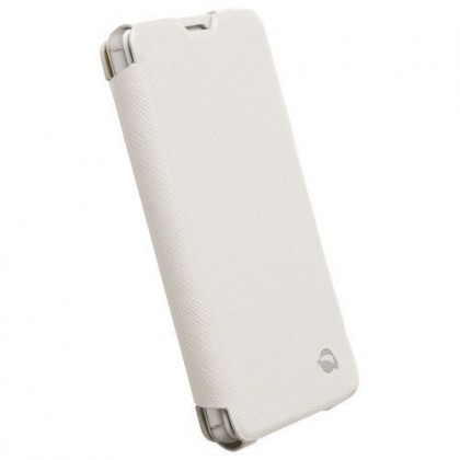 Sony Xperia Z3 Compact Case Krusell Malmo Flip Case White Colour (Original)