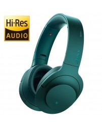 Sony MDR-100ABN/L h.ear on Wireless NC Headphones High-Resolution Audio MDR-100ABN (Original) from Sony Malaysia - Blue Colour