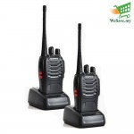 2 Units BAOFENG BF-888S Walkie Talkie Two-Way Radio Transceiver UHF FM 52 Twin Pack (Original)