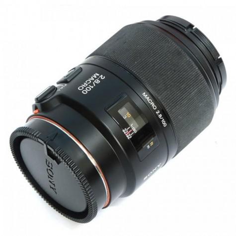 (DISPLAY UNIT) Sony SAL-100M28 100 mm F2.8 Macro Lens (Original)