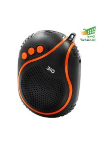 NBY-310 Wireless Bluetooth Speaker with Microphone Orange Colour