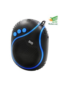 NBY-310 Wireless Bluetooth Speaker with Microphone Blue Colour