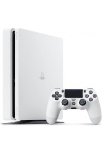 Sony PlayStation 4 Slim Console CUH-2006A PS4 Player 500GB White Colour CUH-2006A/W 1 Year Warranty By Sony Malaysia