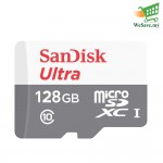 SanDisk Ultra 128GB 80MB/s microSDXC UHS-I Memory Card (Original)