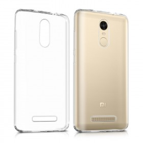 Xiaomi Redmi Note 3 / Redmi Note 2 Pro Clear Transparent Crystal TPU Silicone Case Cover (Original)