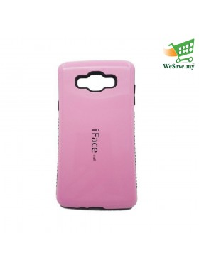 iFace Mall Samsung Galaxy A3 Hard Case Pink Colour
