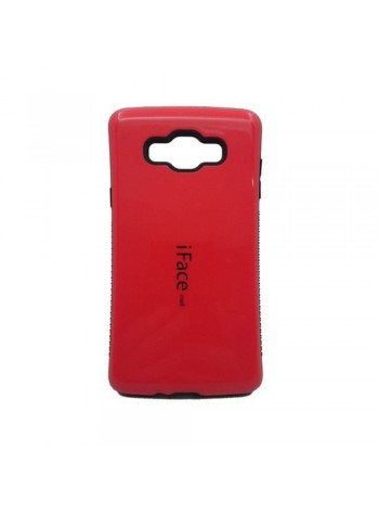 iFace Mall Samsung Galaxy A3 Hard Case Red Colour