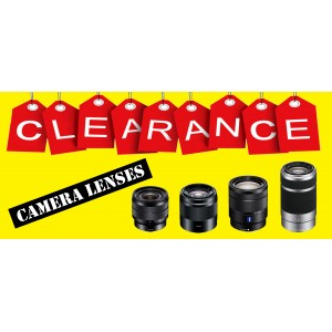 Camera Lenses Clearance